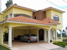 Beautiful Islands, Beautiful Places, Mexican Style Homes, House Design Pictures, Mansions Homes, Mediterranean Homes, Dominican Republic, House Floor Plans, Luxury Homes