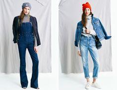 Как можно носить простые вещи или lookbook Madewell | Азбука стиля