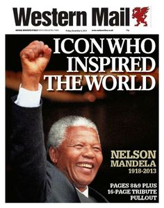 Britain's newspapers rushed out fresh editions as news of Mandela's death broke.