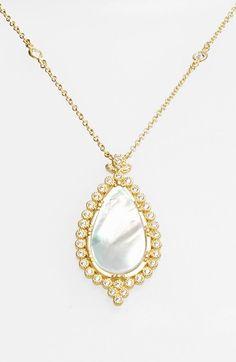 Freida Rothman, 'Femme' Teardrop Pendant Necklace