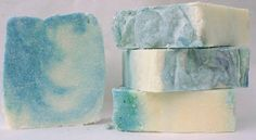 Bean Tree Soaps | Spa Sea Salt Soap made with 25% unrefined shea butter and copious amounts of salt. bars are rock hard and lather a bit differently with small creamy lotion-like lather. people swear by salt water for helping with skin issues, you can have a salt water experience in your freshwater shower. The high amount of shea butter makes this a very moisturizing soap. The scent for this bar is an essential oil blend of dark patchouli, lavender and rose geranium