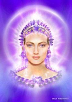 Lady Ametista#linda# femenino sagrado