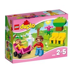 Lego Duplo: Mother With Baby (10585)  Manufacturer: LEGO Enarxis Code: 014708 #toys #Lego #duplo #baby