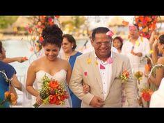 La boda de ensueño de Dilcia y Gael