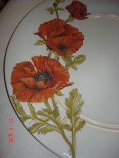 Pintura sobre Porcelana - San Isidro