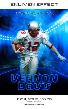 Vernon Fresno High School Sports Template - Enliven Effects