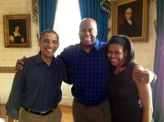 ٠•●●♥♥❤ஜ۩۞۩ஜஜ۩۞۩ஜ❤♥♥●   President Obama, Craig Robinson, First Lady Michelle Obama  ٠•●●♥♥❤ஜ۩۞۩ஜஜ۩۞۩ஜ❤♥♥●
