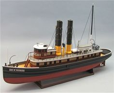 George W. Washburn Tug Boat Kit, 1/48 Scale