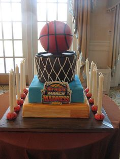 basketball cake okc thunder