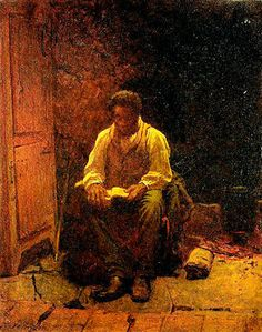 The Lord is my Shephard by Eastman Johnson