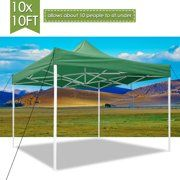 Impact Canopy 10x10 Instant Pop Up Canopy Tent Straight Leg Weight Bags Roller Bag Black Walmart Com Outdoor Canopy Gazebo Pop Up Canopy Tent Canopy Tent