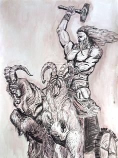 Thor by derekulstad.deviantart.com on @DeviantArt