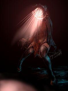 Lightwoman by Kay [pixiv]