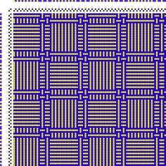 draft image: Karierte Muster Pl. VIII Nr. 6, Die färbige Gewebemusterung, Franz Donat, 2S, 2T