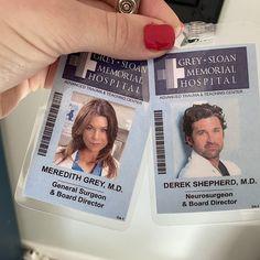 Greys Anatomy Frases, Greys Anatomy Derek, Greys Anatomy Funny, Greys Anatomy Cast, Meredith And Derek, Greys Anatomy Characters, Medicine Student, Derek Shepherd, Grey Stuff