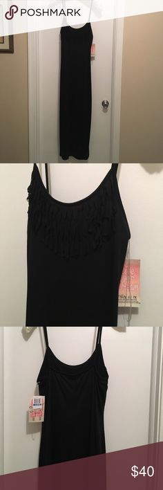 Miken Swim Cover up NWT. Purchased and never wore. Cute fringe detail. Summer is almost here !!! Miken Swim Coverups
