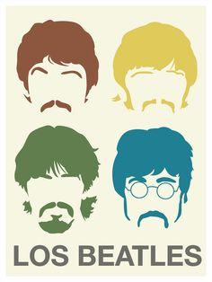 cojines con los Beatles???