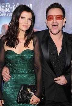 Bono & Ali Hewson - 38 Jahre