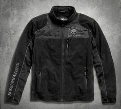 Skull Windproof Fleece Jacket - 98576-16VM