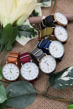 So many different ways to wear the Parsonii watch! Mix and match to your  mood!