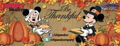 Happy Thanksgiving Thanksgiving Facebook Covers, Happy Thanksgiving, Facebook Timeline Covers, Holiday Traditions, Disney Love, Autumn Leaves, Mickey Mouse, Disney Characters, Fictional Characters
