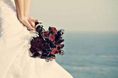 Glamorous and romantic pre-wedding photo shoot. Florals by Enchanted Garden Floral Design. egfloraldesign.com Photography: izlas.com