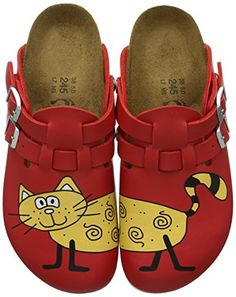 Style Bear Tiger Feet Funny Shoes Red Apple Clogs 37-38
