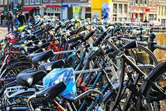 Bikes, Amsterdam, Netherlands