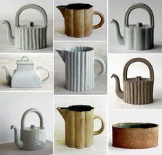 Signe Persson Melin   Sonja Maria Rettensteiner Pottery Teapots, Ceramic Pottery, Modern Ceramics, Ceramic Artists, Porcelain Ceramics, Clay Projects, Stoneware, Tea Pots, Tableware