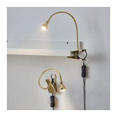 RANARP Work lamp with LED bulb IKEA $33 Decor