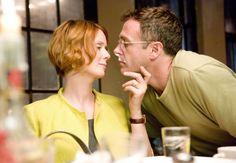 Miranda Hobbes (Cynthia Nixon) and Steve Brady (David Eigenberg) ~ Sex and the City (2008) ~ Movie Stills ~ #satc2008 #satcmovie #satc #sexandthecitymovie #moviestills