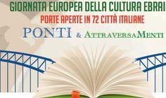 Costruire ponti per riparare il mondo. 72 piazze italiane per la Giornata della Cultura Ebraica.