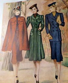 McCall's magazine, September 1938 featuring McCall 9884 (cape), ? and ?
