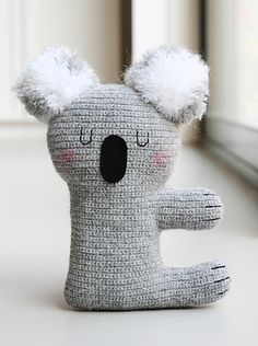 Ravelry: Kiki the Koala pattern by Claudia van K.FREE