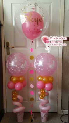 Celebration Balloons of Rothwell - Party Balloons in Leeds Baby Balloon, The Balloon, Christening Balloons, Balloon Pictures, Celebration Balloons, Party Needs, Births, Wakefield, Decorate Your Room