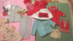 Vintage Barbie & skipper clothing and accessory Lot by lukasangel