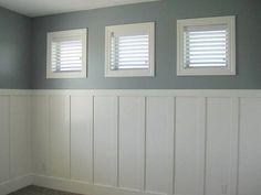 Insane Ideas Can Change Your Life: Wainscoting Panels Woods wainscoting living room picture frame molding.Wainscoting Wallpaper Navy Blue white wainscoting board and batten.White Wainscoting Board And Batten. Installing Wainscoting, Beadboard Wainscoting, Dining Room Wainscoting, Wainscoting Panels, Wainscoting Ideas, Wainscoting Nursery, Bathroom Wainscotting, Paneling Ideas, Bead Board Walls