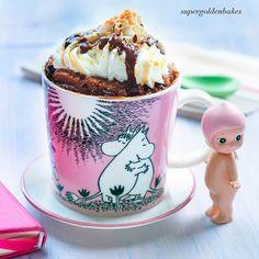 ...Chocolate mug cake   supergolden bakes