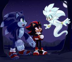 Hedgehog Movie, Hedgehog Art, Sonic The Hedgehog Halloween, Silver The Hedgehog, Shadow The Hedgehog, Sonic Unleashed, Sonic Funny, Cartoon As Anime, Sonic Franchise