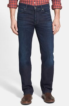 7 For All Mankind® 'Standard - Luxe Performance' Straight Leg Jeans (Angeleno Hills) at Nordstrom. For Andrew