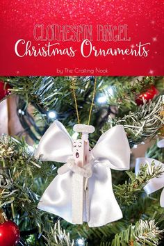 How+to+Make+Clothespin+Angel+Christmas+Ornaments