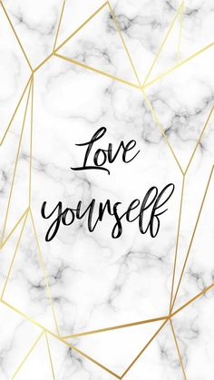 iphone wallpaper marble Love yourself - wallpaper quotes - yourself sign Hello Wallpaper, Iphone Wallpaper Quotes Love, Marble Iphone Wallpaper, Disney Phone Wallpaper, Iphone Background Wallpaper, Aesthetic Iphone Wallpaper, Colorful Wallpaper, Macbook Wallpaper, Fond Design