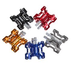 Bicycle Pedal Aluminum Alloy Mountain Bike Pedals Road Cycling Sealed 3 Bearing Pedals BMX UltraLight bike Pedal Bicycle Parts #Affiliate