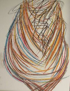 Figure #art #pastels #figure #drawing #abstract