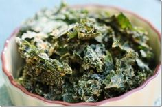 Spicy Curry Kale Chips