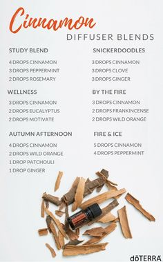 Cinnamon Bark Diffuser Blends