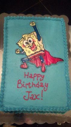 Jax's 6th birthday cake.