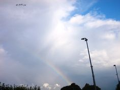 Rainbow in Warnemünde. Baltic Sea, Clouds, Outdoor, Outdoors, Outdoor Games, The Great Outdoors, Cloud