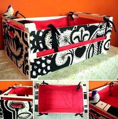 54 Ideas For Fruit Box Furniture Drawers Fruit Box, Fruit Displays, Recycled Pallets, Basket Decoration, Wooden Crates, Packaging Design Inspiration, Rustic Decor, Diy Crafts, Furniture