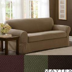 Lazy Boy Sofa Maytex Stretch piece Pixel Sofa Slipcover
